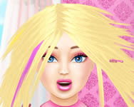 Barbie real haircuts fodr�szos j�t�kok