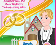 Barbie wedding rush online j�t�k