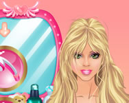Barbies lovely hair care j�t�k