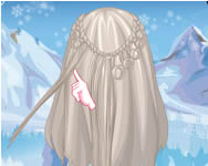 Frozen Elsa feather chain craids fodr�szos j�t�kok ingyen